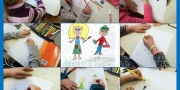 Drawing story characters