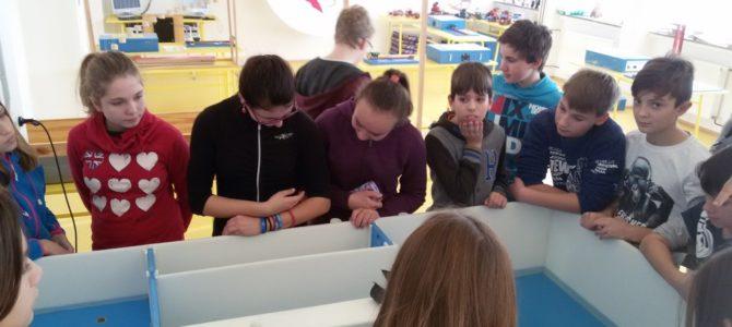 Žáci 7.ročníku navštívili Experimentárium