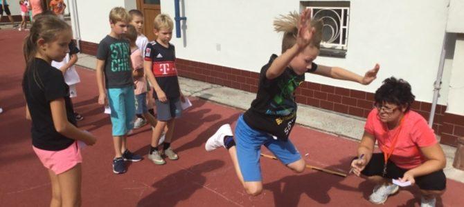 Buď fit – soutěž žáků I. stupně