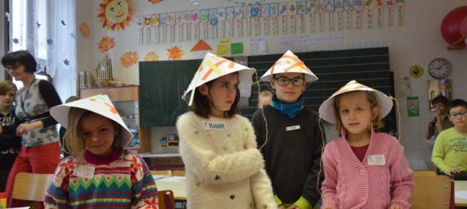 Multikulturalita – projektový den žáků I. stupně