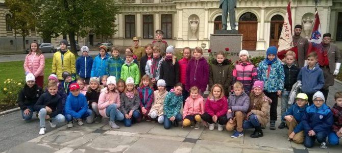 Žáci 4.ročníku oslavili výročí 100 let vzniku ČSR projektem