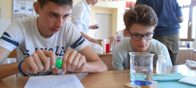Fyzikálně-chemický projekt pro žáky 8.ročníku